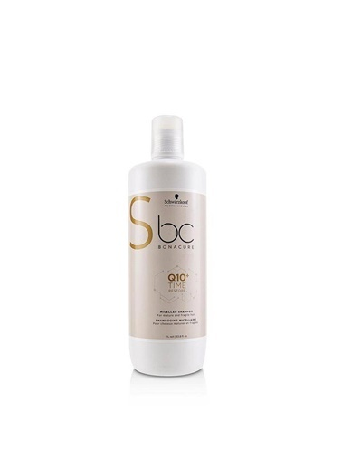 Bonacure Bc Q10+Time Restore Saç Bakım Şampuanı 1000 Ml Renksiz